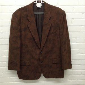 Commes des Garçons Brown Wool Blazer Size Medium